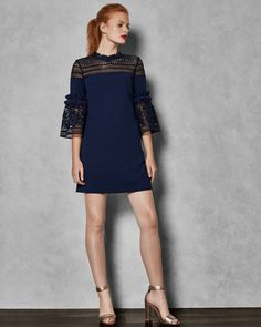 b3f7025a9423eb Ted Baker Outlet Ted Baker Lucilia Jurk Shop online via www.the-outletstore.