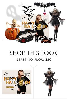 """""""Rosegal Halloween giveaway"""" by mercija ❤ liked on Polyvore featuring Halloween and giveaway"""