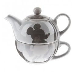 Disney Mickey Mouse Set Teapot with Cup