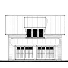 13366 Garage House Plan Design from Allison Ramsey Architects Commercial Architecture, Commercial Interior Design, Landscape Architecture, Landscape Design, Garage House Plans, Second Floor, Architects, Floor Plans, How To Plan
