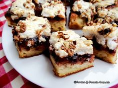 Prăjitură cu gem şi bezea   Bucate Aromate
