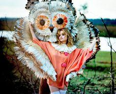 Alison Goldfrapp & an owl...