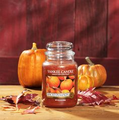 My Favorite Fall Candle of All Time...Spiced Pumpkin from Yankee Candle <3
