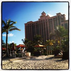 From one of our writers on her trip to the Bahamas! Atlantis Resort, in Nassau Paradise Island, Bahamas