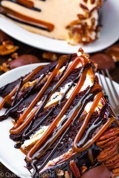 Köstliche Desserts, Delicious Desserts, Dessert Recipes, Yummy Food, Food Cakes, Cupcake Cakes, Cupcakes, Chocolate Turtles, Chocolate Cake