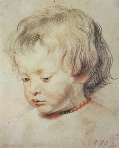 Rubens, Peter Paul : Portrait of a Boy