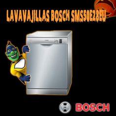 Lavavajillas Bosch SMS50E28EU Acero inoxidable antihuella 60cm A+