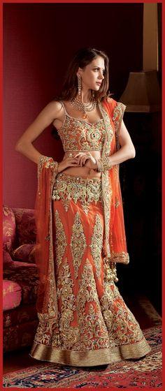 stylish indian bridal sharara designs