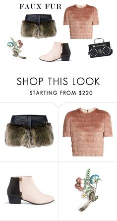 """Faux Me Faux You"" by love-kaleidoscope ❤ liked on Polyvore featuring Chanel, Raey and Nine to Five"