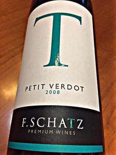 El Alma del Vino.: Bodega F.Schatz Petit Verdot 2008.