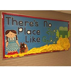 There's No Place Like Second Grade Wizard of Oz board by Kristi Dunckelman