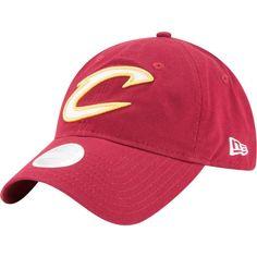 8714ce89b New Era Women s Cleveland Cavaliers 9Twenty Glisten Adjustable Hat