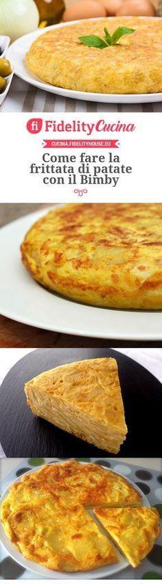 Come fare la frittata di patate con il Bimby