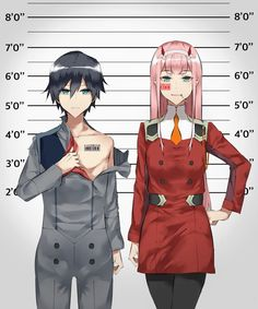 Zero Two x Hiro - Darling in the FranXX #GG #anime