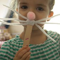 Bunny Nose & Whisker Craft for Kids