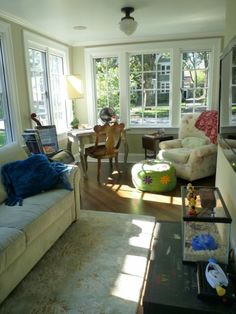 100 Year Cheery Sun Room Renovation - Before & After