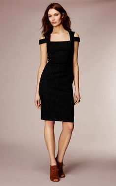 Karen Millen lace jacquard dress