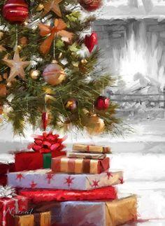Время Рождества - поры чудесной ... Художник Richard MacNeil | Записи AЯT (Искусство) | УОЛ