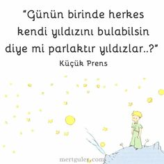 Küçük Prens'ten... Tumblr Quotes, Text Quotes, Book Quotes, Life Quotes, Meaningful Sentences, Good Sentences, I Love Books, My Books, Mysterious Words