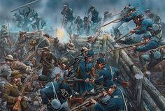 Union success at the Bloody Angle, battle of Spotsylvania Courthouse 4.30 AM, May 12, 1864