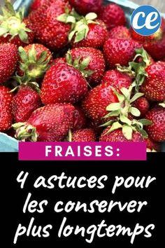 Comment conserver les fraises plus longtemps ? Nos 4 astuces naturelles et efficaces Muffins, Strawberry, Tips, Food, Hacks, Natural Skin Care, Healthy Eats, Fruits And Veggies, Food Recipes