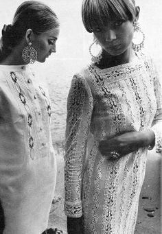 Textured whites, 1966, by Helmut Newton