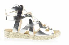 Lince Shoes SS16 #sandalia #romana #plata