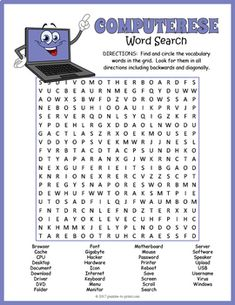 Great activity to introduce and reinforce computer vocabulary. Computer Lab Lessons, Computer Lab Classroom, Computer Literacy, Computer Teacher, Teaching Computers, School Computers, Computer Class, Technology Lessons, Computer Basics