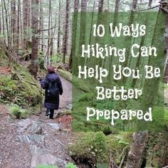 Hiking is one of those day to day activities that can help you become a better prepper. Here are 10 ways hiking can help you be better prepared. It is not as difficult as you think and the rewards are enormous. via www.BackdoorSurvival.com
