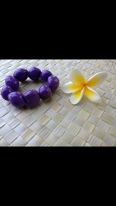 Hibiscus Kukui bracelet