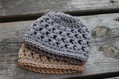 Puffy Preemie Crochet Baby Hat