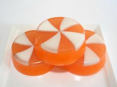 Handmade Soap  Orange Creamsicle Candy  Soap  by asliceofdelight, $5.00