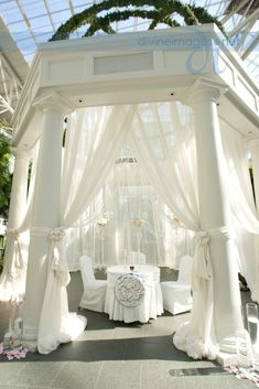 I literally want to pin this entire board Wedding Draping, Luxe Wedding, Wedding Reception Decorations, Wedding Ceremony, Dream Wedding, Reception Ideas, Blue White Weddings, Chuppah, Wedding Designs