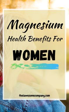 11 Health Benefits of Magnesium for Women Brain Nutrition, Nutrition Tips, Health And Nutrition, Women's Health, Mental Health, Health Tips, Health Fitness, Magnesium Benefits, Health Benefits