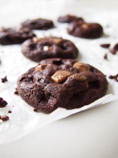 Suklaa-nougat cookies