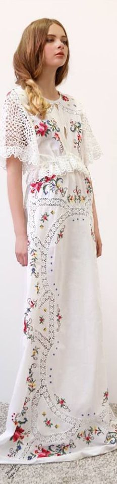 Boho Chic - I am  keeping this for its openwork sleeves - how to make these?