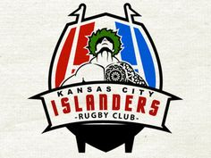 Kansas City Islanders Rugby Club designed by William Racule. the global community for designers and creative professionals. Rugby Club, Club Design, Art Logo, Kansas City, Logos, Logo