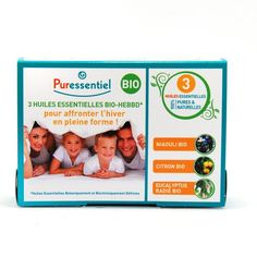 Puressentiel Coffret 3 Huiles Essentielles Hiver Bio 3x10ml - Pharmacie Lafayette - Huiles Essentielles