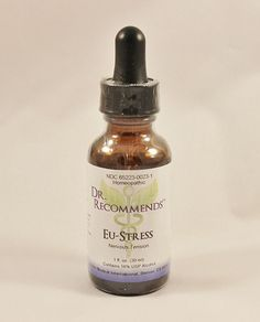 Natural Home Remedy for Stress | EU Stress Homeopathic (1 fl. oz) by Dr. Recommends
