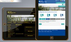 at 2014 [Responsive Tablet] © echonet communication GmbH Web Design, Projects, Design Web, Website Designs, Site Design
