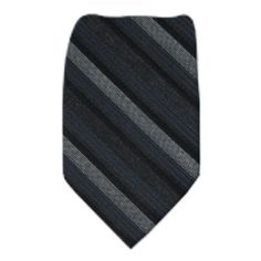 Calvin Klein Silk Ties - www.buyyourties.com Men's Wardrobe, Men's Suits, Staple Pieces, Shades Of Grey, Silk Ties, Black And Grey, Calvin Klein, How To Wear, Fashion