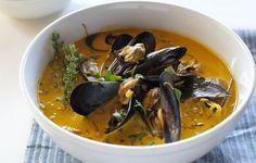 Chef Fabio Viviani's Mussel Soup with Leeks and Saffron | What's the Soup