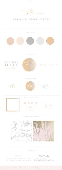 full branding for wedding planners; branding for wedding vendors; Website Design, Website Ideas, Brand Identity Design, Brand Design, Marca Personal, Photographer Branding, Brand Board, Logo Nasa, Logo Design Inspiration