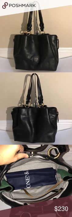 """Dooney&Bourke Florentine Leather Large Zip Barlow Dooney & Bourke Florentine Leather Large Zip Barlow satchel . Some scuff marks. Some scratches front and back and bottom of purses. measurements approximately 12-1/4""""W x 10""""H x 6-1/4""""D with an 11""""L strap drop; weighs approximately 3 lbs, 4 oz Body/trim 100% leather; lining 100% cotton Dooney & Bourke Bags Satchels"""