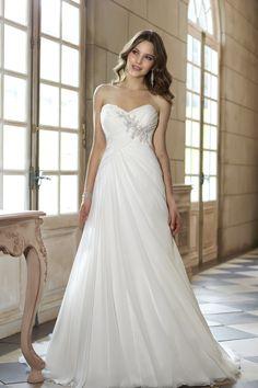 2013 Wedding Dresses A Line Sweetheart Floor Length Ruffles Beading&Sequins USD 179.99 EPPAXZJ7XH - ElleProm.com