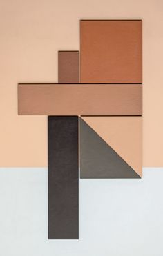 Graphic tiles are having a moment. New from Italian tile company Mutina is Tierras, a collection by Spanish-born architect and designer Patricia Urquiola. Earth Tone Decor, Earth Tone Colors, Earth Tones, Earth Color, Patricia Urquiola, Black Interior Doors, Earthy Color Palette, Material Color Palette, Material Board
