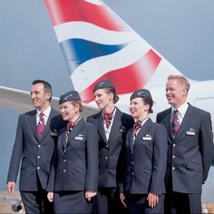 flight attendant for British Airways