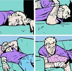Me in the morning || Clint Barton