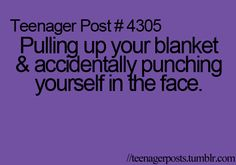 Believe it or not this happens to me a lotxD