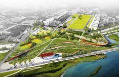 Five Major Landscape Architecture Firms Unveil Competing Designs for New Presidio Parklands Project in San Francisco